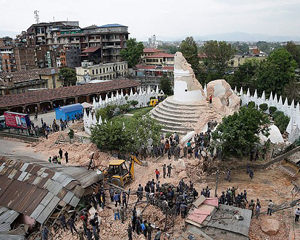Nepal Earth Quake relief