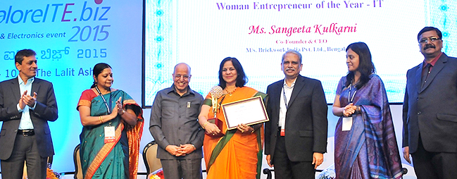 Woman Entrepreneur of the year (2015) - IT